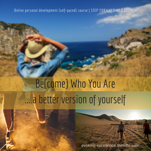 BE(COME) WHO YOU ARE | Self-Paced